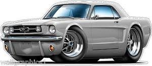 1965 mustang 289 horsepower ford 1965 mustang gt 289 hp cars wall decal sticker