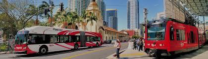 Trolley San Diego Map by About Mts San Diego Metropolitan Transit System