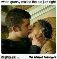 Granny Meme - when granny makes the pie just right funny meme pmslweb