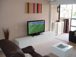 creative tv stand ideas white wood wall cabinet shelves high