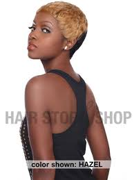 hair bump sensationnel bump collection human hair pixie wig