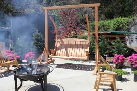 Porch Swing Fire Pit by Porch Swing Set U2013 Unique Furniture To Feel Hovering Experience