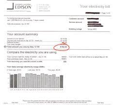 how much is a light bill southern california edison california green designs local solar