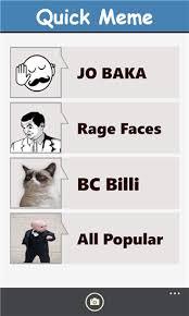 quick meme app ranking and store data app annie