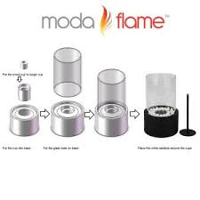 moda flame table top moda flame ghost tabletop fire pit ethanol fireplace stainless steel