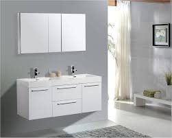 aqua decor austin 54 inch modern double sink bathroom vanity w