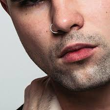 male nose rings images Men nose rings images jpg