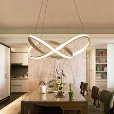 Dining Room Pendant Lighting Extraordinary Living Room Hanging Lights New Modern Spiral Led