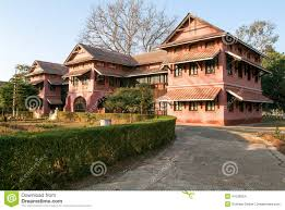 British Houses British Colonial Houses Of Pyin U Lwin Stock Photo Image 47038324