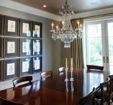 crystal chandelier for dining room dining room classic dining