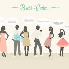 wedding dress code wedding dress code wording wedding dress
