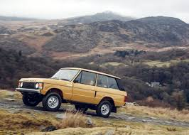 70s land rover range rover reborn set for world debut at salon rétromobile 2017