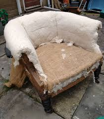 How Much Fabric To Reupholster A Sofa Monthly Make How To Reupholster A Chair Jen Moules Textile Design
