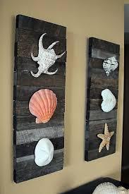 Beach Decor Pinterest by Beach Decor Shells On Driftwood For Coastal Decor Via Etsy