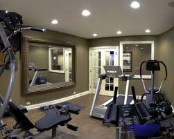Decorating Home Gym Basement Gym Ideas Manly Home Gyms Decorating And Design Ideas For