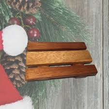 salvaged wood soap tray this slotted soap dish is made from