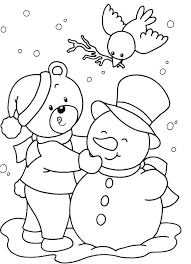 coloring page snowman family coloring pages snowman kids drawing of snowman coloring page