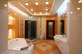 Bathroom Ceilings Ideas Best Tips For False Ceilings For Bathrooms With Lighting Ideas In