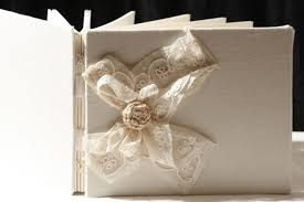 ivory wedding guest book guest book ivory tulle lace wedding guest book crocheted