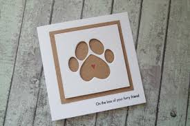 pet sympathy card loss of your pet card cat sympathy card