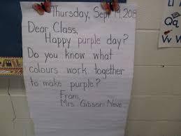 Make Purple Paint Adventures In Room 102 Purple Day