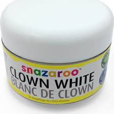 Snazaroo Light Grey Snazaroo Clown White Face Paint 50ml Woodiespartyzone Ie