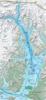 Alaska Air Map by Maps Glacier Bay National Park U0026 Preserve U S National Park