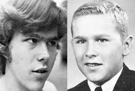 highschool year book jeb and george bush