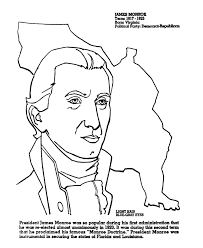 usa printables us presidents coloring pages president james