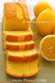 kitchen corner lemon pound cake