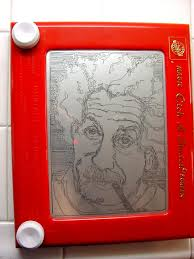 forest elf etch a sketch by capital j on deviantart