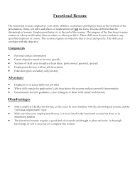 how to write a resume ehow what is a functional summary on a resume ehow