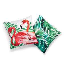 avon living tropical oasis outdoor pillow covers set of 2 avon