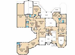 Monster House Plans Luxury Style House Plans Plan 63 178
