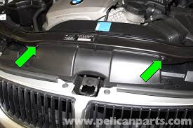bmw e90 air filter replacement e91 e92 e93 pelican parts diy