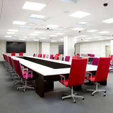Oak Boardroom Table Contemporary Boardroom Table Oak Rectangular In Tensive By