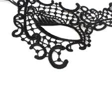halloween lace flower venetian masquerade ball eye mask party