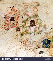 Map Of England And Ireland by England And Ireland Depicted In Jacopo Russo Map Of The World 16th
