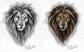 lion tattoo art and designs page 118