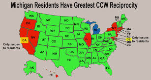pa carry permit reciprocity map federal concealed carry permits do they exist for citizens