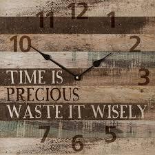 themed wall clock time is precious wall clock wall clocks clocks and walls