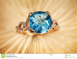 golden stone rings images Golden jewelry ring with blue topaz stock photo image of jpg