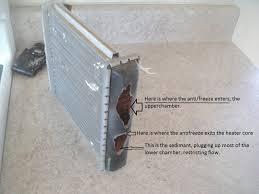 1992 cadillac radiator diagram 1999 cadillac deville radiator