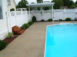concrete pool deck paint colors pictures on fabulous concrete pool