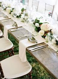 mariage et blanc décoration de table de mariage tout blanc les décorations de