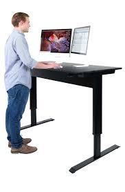 desk height adjustable desktop standing desk hopco height