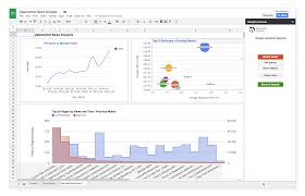 Google Spreadsheet Google Sheets Add On For Google Analytics