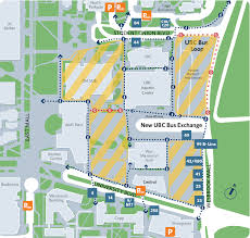 Ups Transit Map Ubc Bus Loop Closes March 6 2017 Transportation