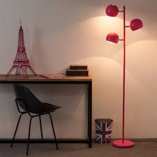 pink floor lamp must follow steps for decorating with pink plus