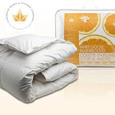 How To Wash Feather Duvet White Goose Feather Duvet Canadian Down U0026 Feather Company